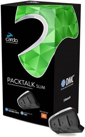 Interkom Cardo Packtalk Slim JBL na 1 kask
