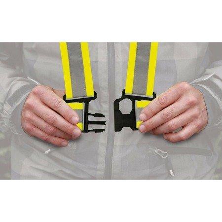 Szelki kamizelka odblaskowa LAMPA X-belt