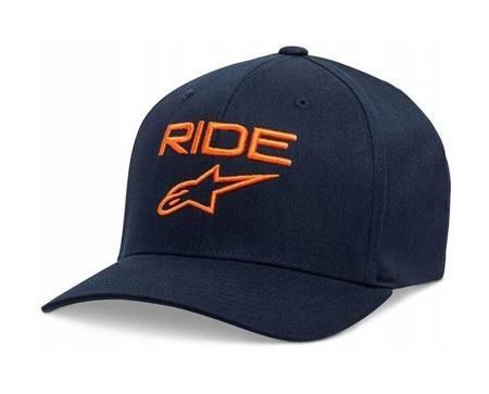 Czapka z daszkiem Alpinestars RIDE 2.0 navy orange