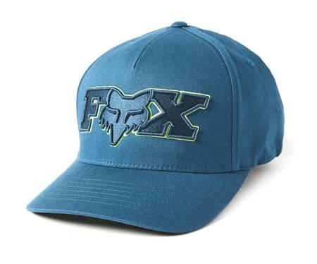 Czapka z daszkiem FOX Ellipsoid Flexfit indygo