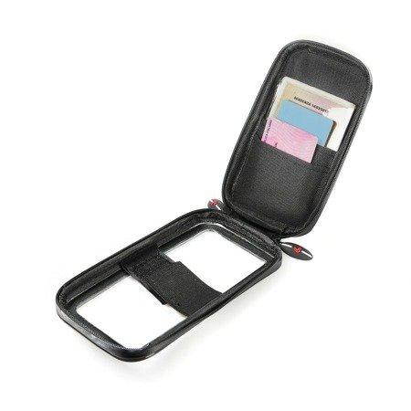 Etui uchwyt na telefon smartphone Lampa Opti-Line Duo Lock rozmiar M 70x145 mm