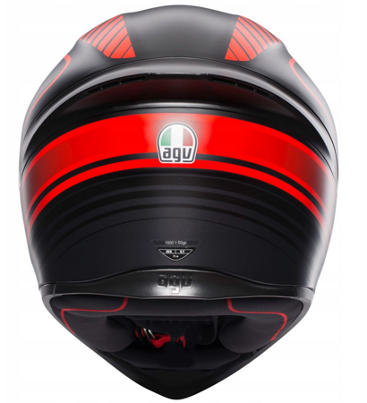Kask AGV K1 Warmup black red matt