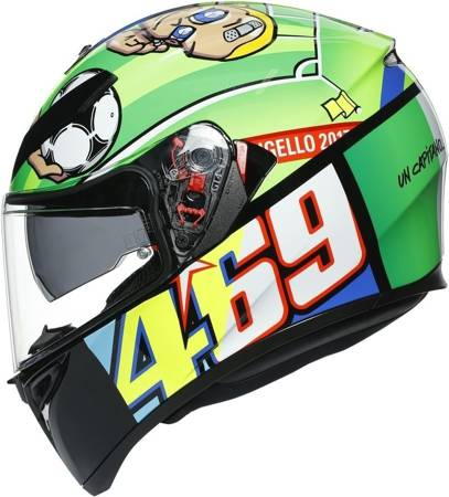Kask AGV K3 SV 2.0 Rossi Mugello 17