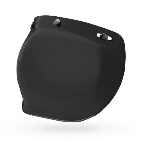 Kask BELL Custom 500 white z wizjerem bubble dark smoke