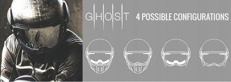 Kask CABERG Jet Ghost black matt