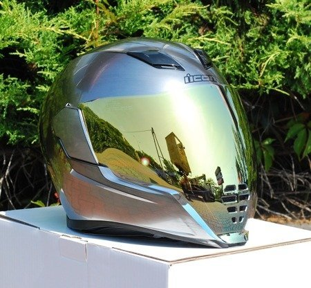 Kask ICON AIRFLITE Quicksilver gold mirror