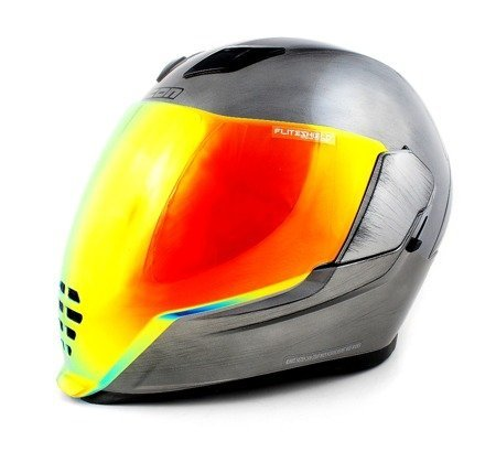 Kask ICON AIRFLITE Quicksilver red  mirror