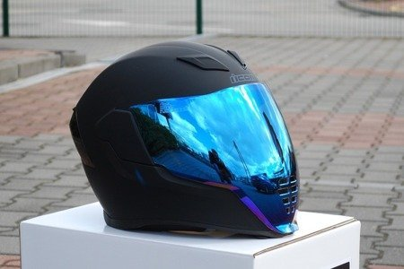 Kask ICON AIRFLITE black matt blue mirror