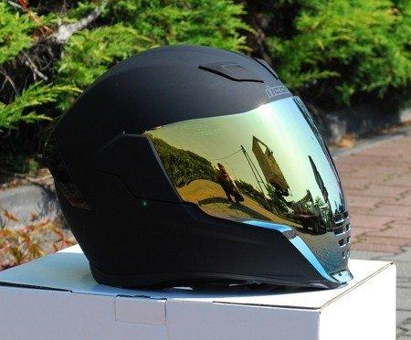 Kask ICON AIRFLITE black matt gold mirror