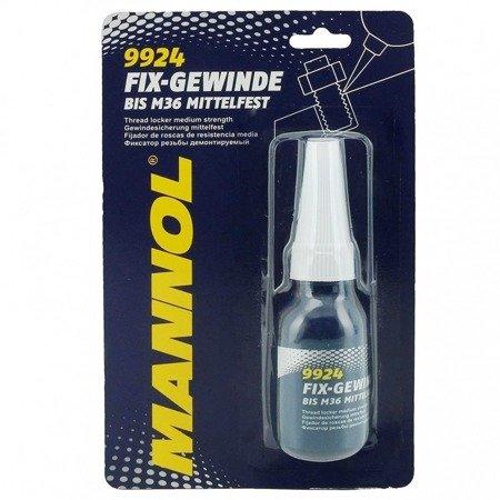 Klej gwintów śrub MANNOL 9924 fix-gewinde średnio mocny