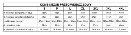 Kombinezon przeciwdeszczowy SECA MONSUN fluo