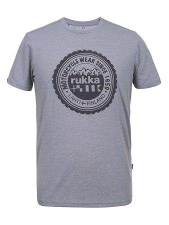 Koszulka T-shirt RUKKA MITFORD grey