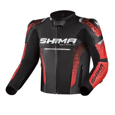 Kurtka skórzana SHIMA STR 2.0 red