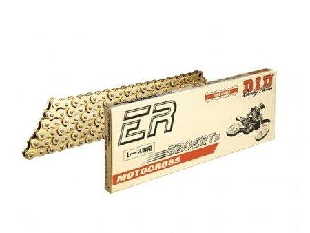 Łańcuch napędowy DID 520ERT3 110 ogniw złoty otwarty z zapinką klipsem