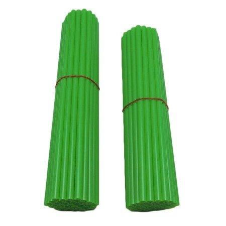 Nakładki na szprychy ACCEL zielony