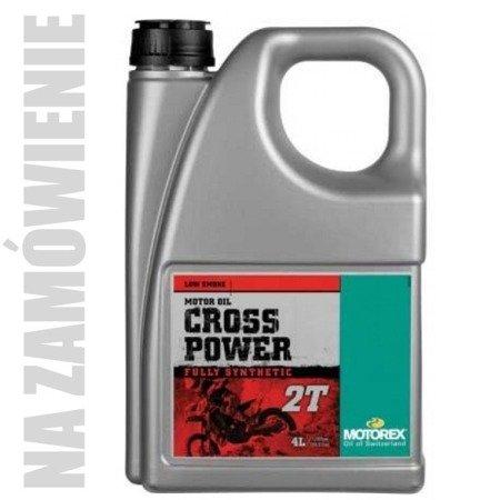Olej MOTOREX Cross Power 2T 4L