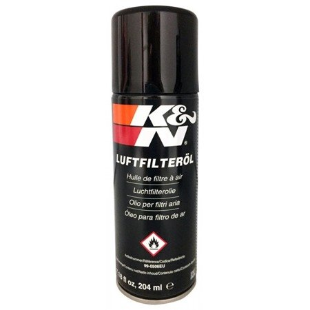 Olej do filtra K&N Luftfilterol Spray 204ml