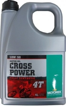 Olej silnikowy MOTOREX Cross Power 10W50 4L