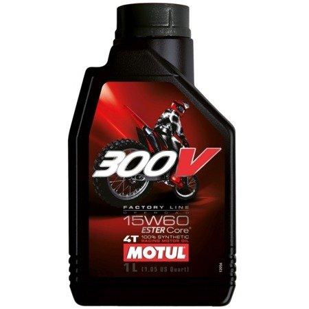 Olej silnikowy MOTUL 300V 15W60 1L