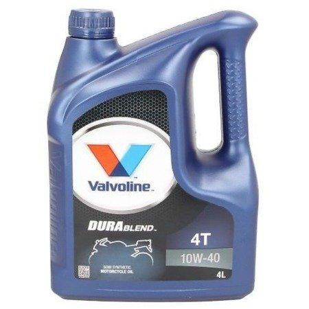 Olej silnikowy VALVOLINE DuraBlend 4T 10W40  4L