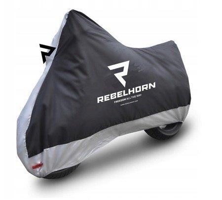 Pokrowiec na motocykl REBELHORN Cover II - wodoodporny rozmiar XL