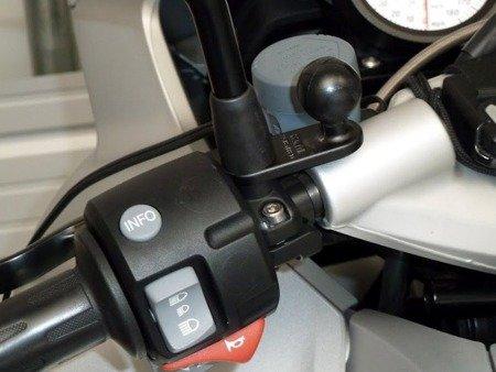 RAM MOUNTS podstawa z 11 mm otworem oraz 1 calową głowicą obrotową