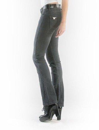 Spodnie damskie jeans MOTTOWEAR KIRA X grey