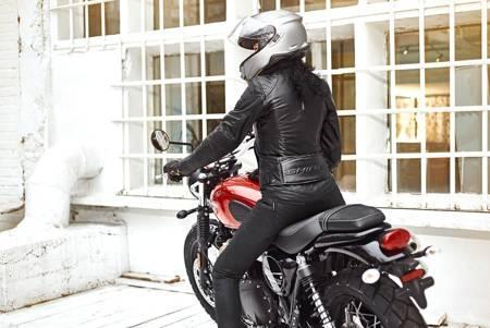 Spodnie damskie jeans SHIMA Nox Jeggings Lady waxed black