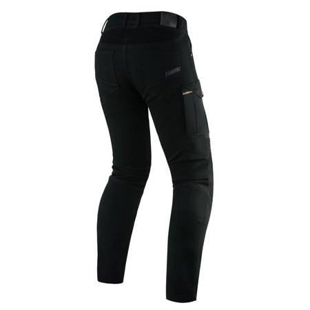 Spodnie męskie jeans REBELHORN Vandal Twill Black