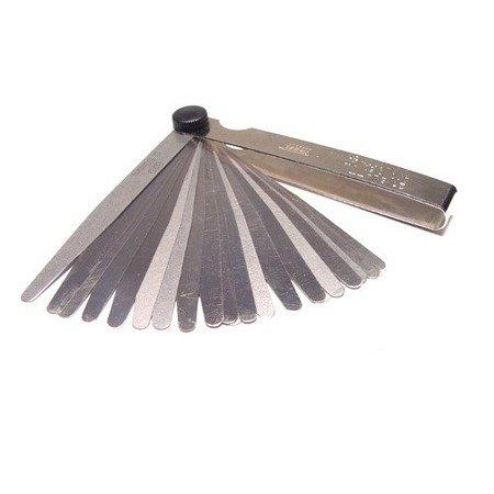 Szczelinomierz  21 listkow 0,10 - 0,50 mm