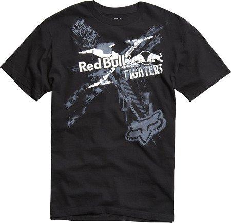 T-shirt FOX Red Bull X-Fighters czarny