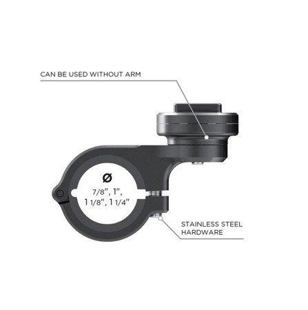 Uchwyt na kierownicę SP CONNECT Moto Mount Pro chromowany